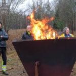fira biokol valborg eld brasa tillsammans